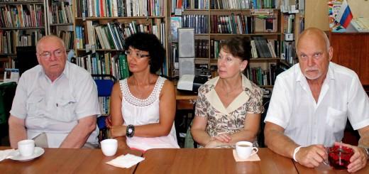 Встреча с писателями из Санкт-Петербурга