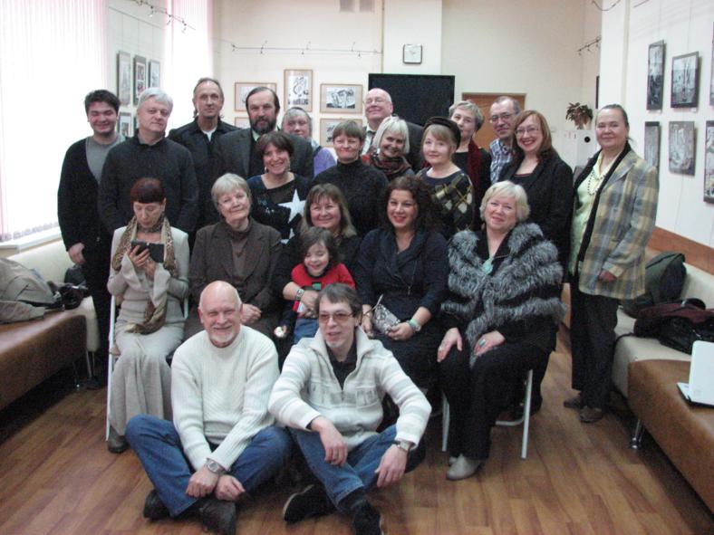 встреча крымских и московских писателей