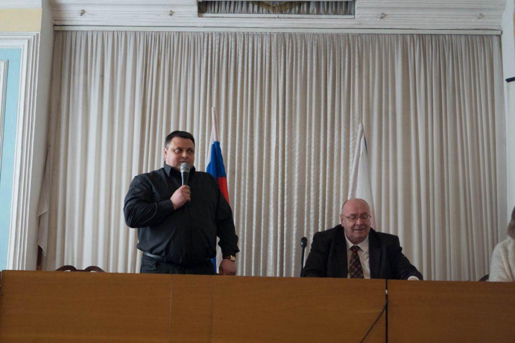 № 10 Выступает Дмитрий Баркаренко