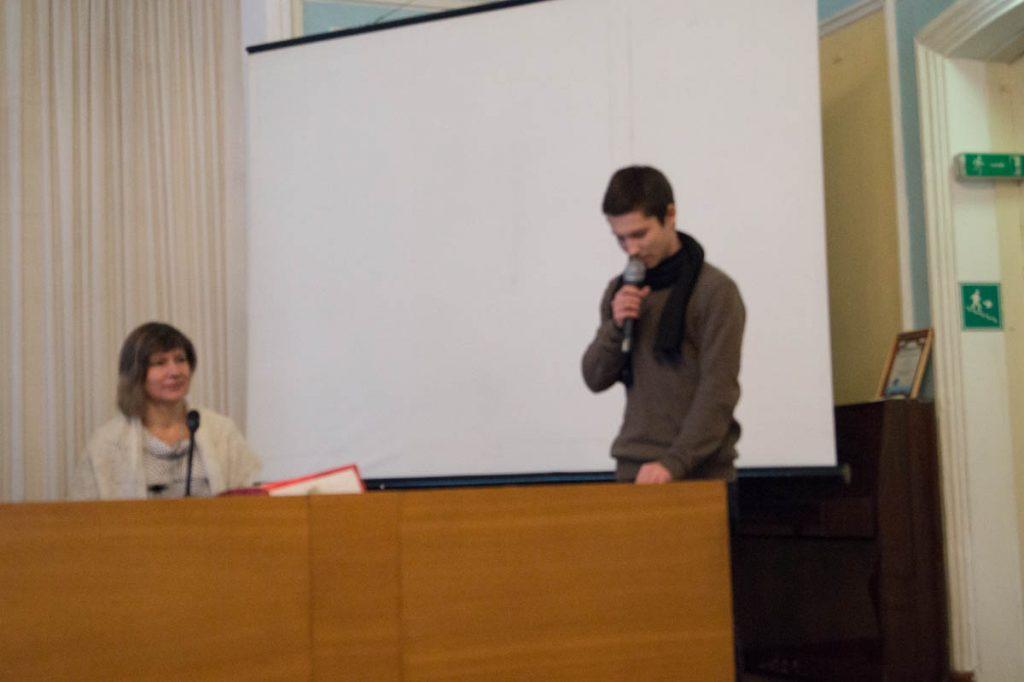 № 20 Выступает Егор Замараев