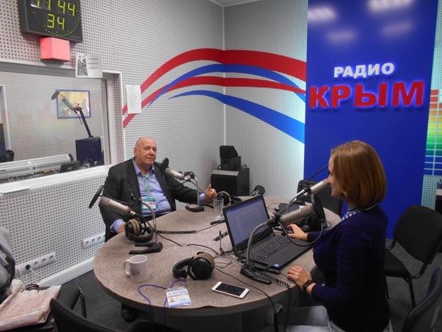 Эфир на «Радио Крым»